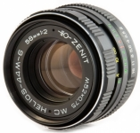 Объектив МС Гелиос 44М-6 58мм F2 для Sony Alpha (A-mount) с чипом